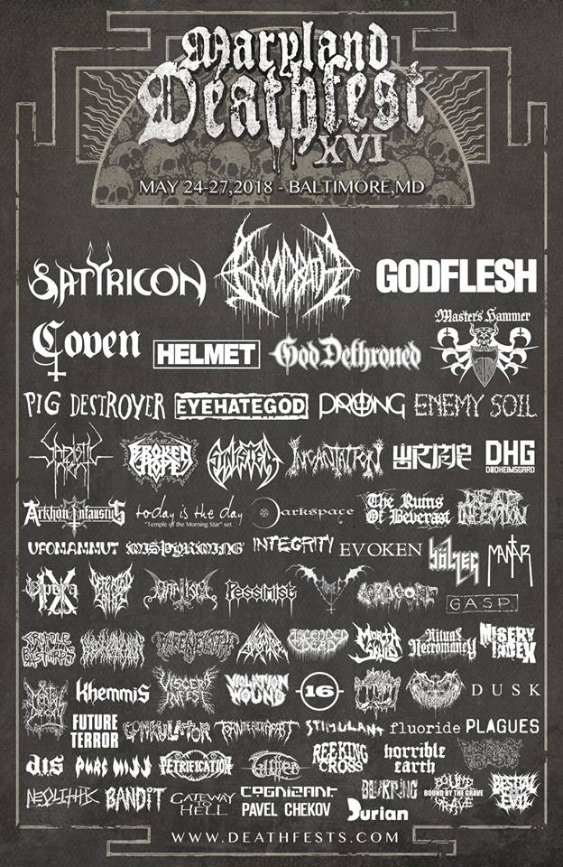 Maryland deathfest 2018
