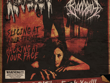"Autopsy Vs Bloodbath ""Double Feature"" 7"""