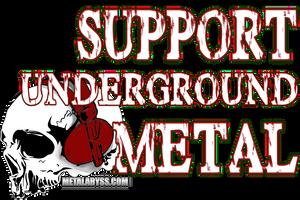 support underground metal