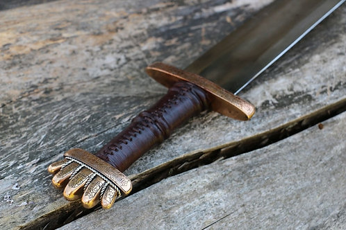 Petersen Type 0 Viking Sword, Authentic hand-forged