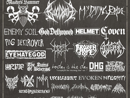 Maryland Death Fest Dates and Lineup