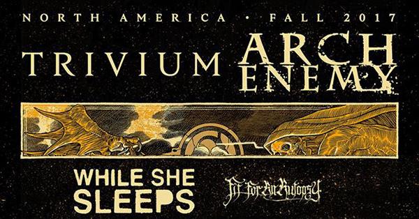 Arch Enemy Trivium Tour 2017