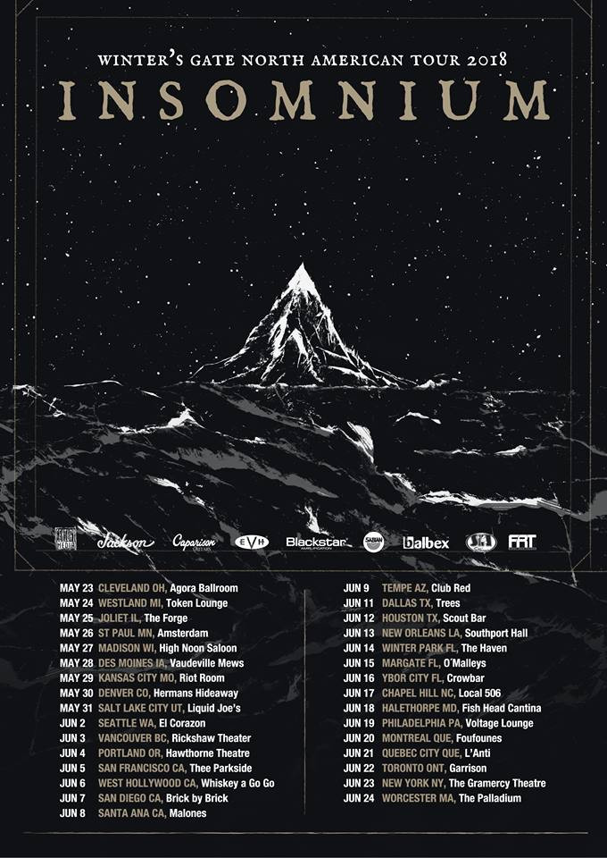 insomnium tour dates