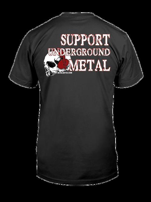 Support Underground Metal Shirt
