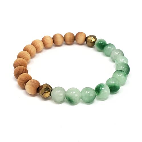 Jade diffuser bracelet