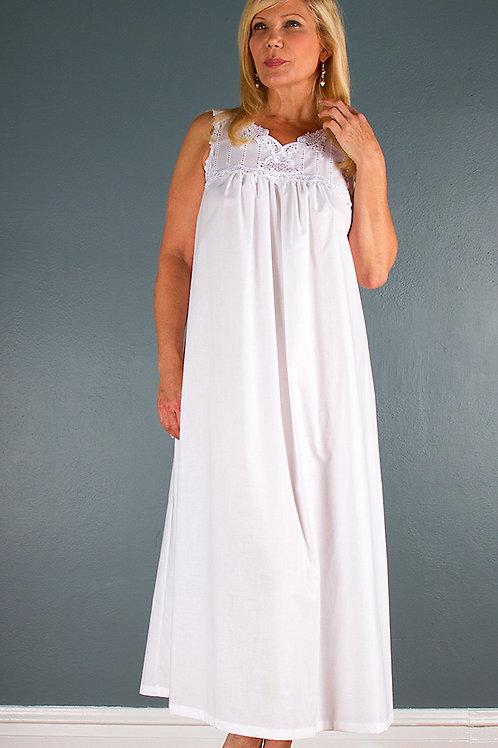 YE1465 - Long Gown - Woven Cotton Batiste