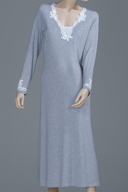 SY6388- Long Sleeve Long Shirt