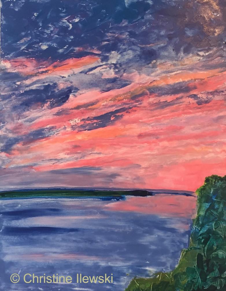 Cerice Sunset on MS River