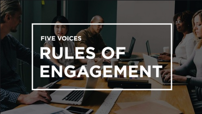 5 Voices Rules of Engagement