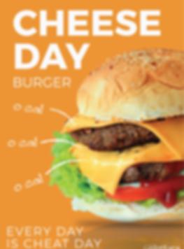 Karuna_Cheese Day Burger_Cheat Day_2562-