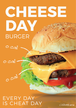 Karuna_Cheese Day Burger_Cheat Day_2562-