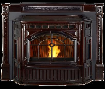 Mt Vernon E2 pellet stove - Photo Mahoga