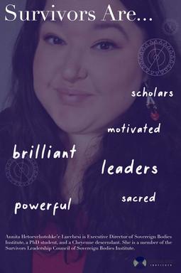 Survivors Are - Annita poster.jpg