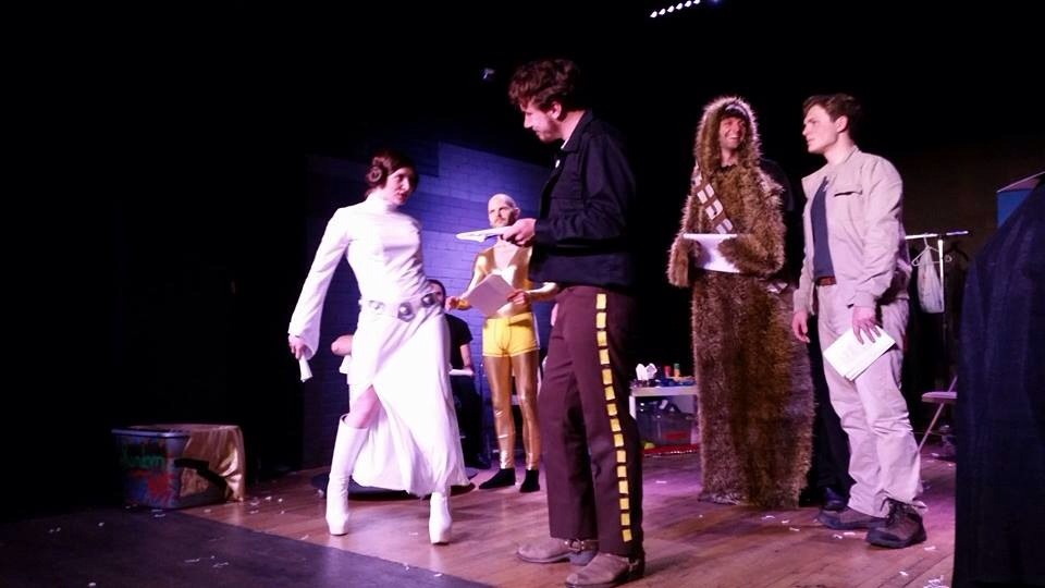 Star Wars Shakespeare Parody