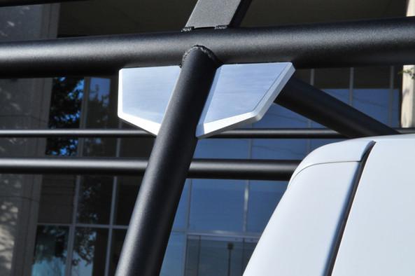 Truck Rack Gusset Caps