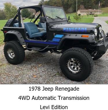 1978 Jeep Renegade