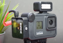 GoPro® Light Mod / Zeus Mini LED Camera Mounted