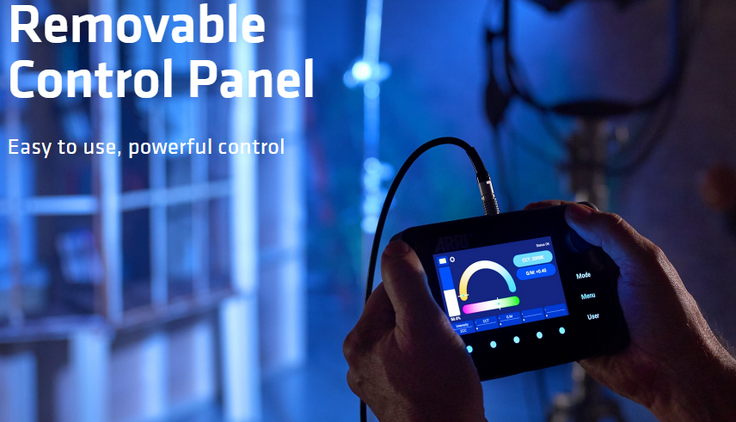 Removable Control Panel