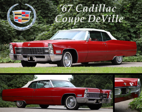 67 Cadillac Coupe Deville adjusted