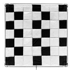 BLACK/WHITE SLIP-ON SHINYBOARD REFLECTOR