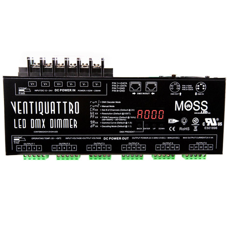 VentiQuattro-LED DMX - 24 Channel Dimmer