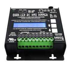 Quad-LED High Current DMX - 4 Channel Dimmer