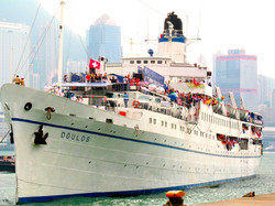 The MV Doulos built in 1914