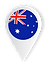 Australia Location Icon