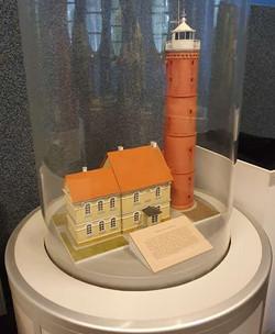 מודל, אחד מיני רבים, המוצג במוזיאון