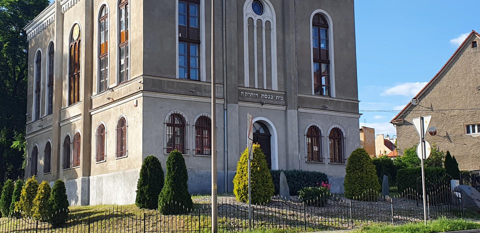 בית כנסת רותקה, דז'רז'וניוב