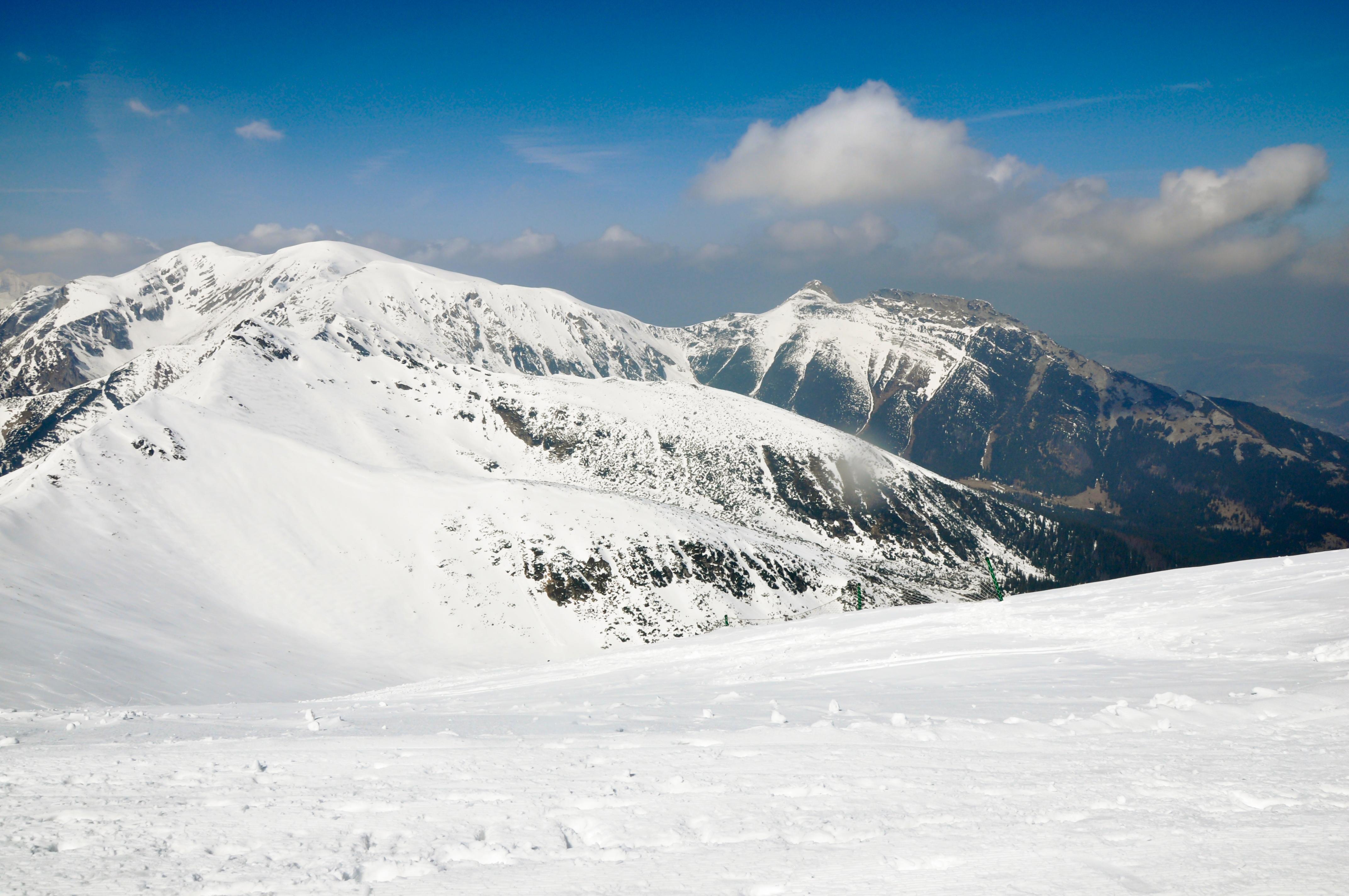 הרי הטאטרה במבט מפסגת קספרוב
