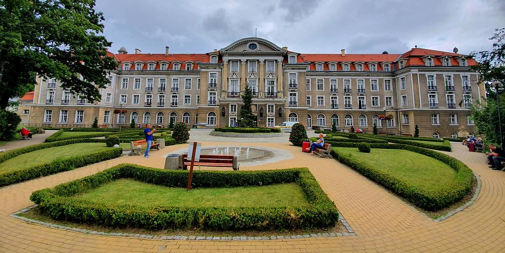 בית המרפא המפואר בשצ'אבנו זדרוי, ניתן להוסיף את העיירה למסלול