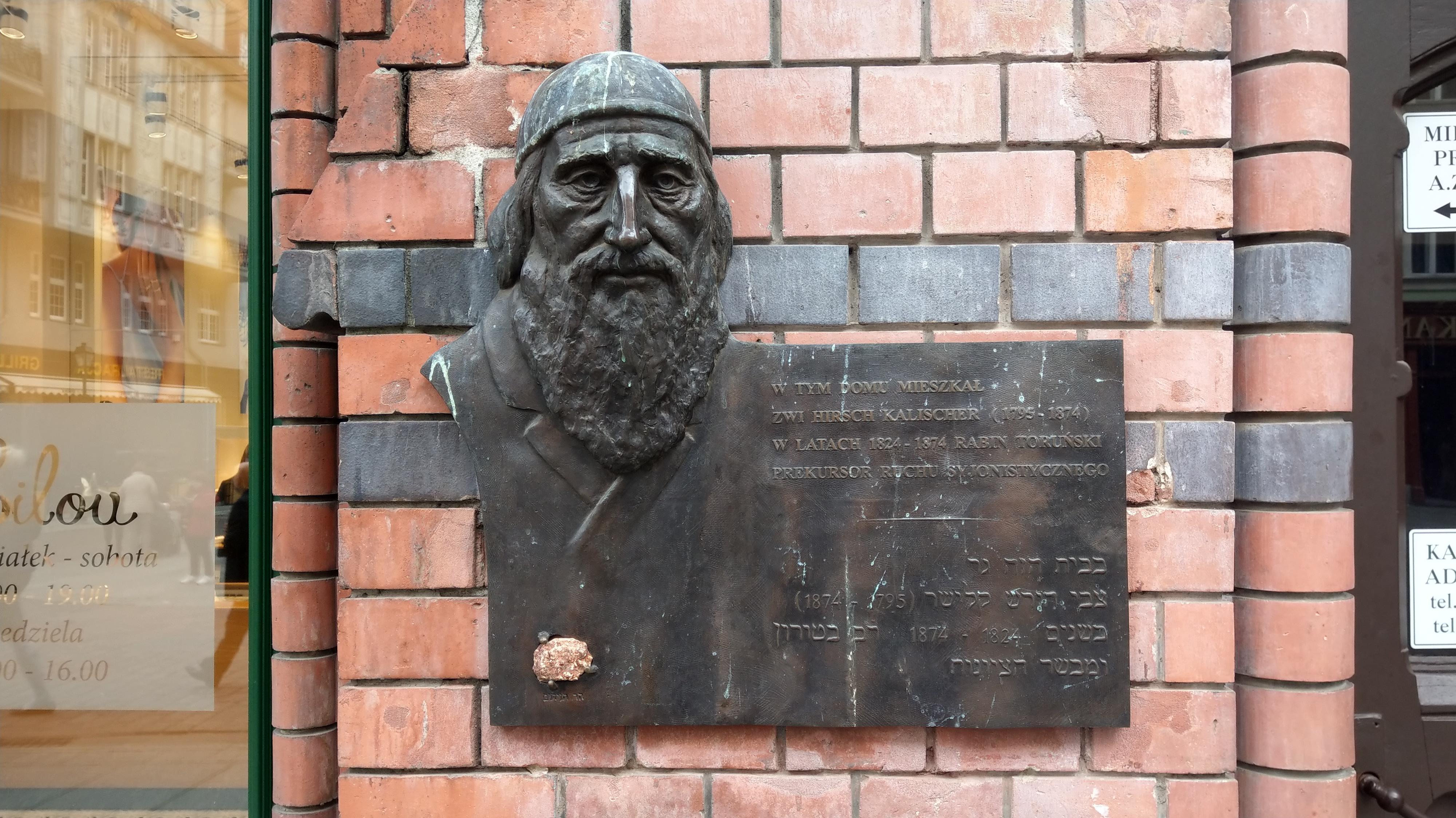 צבי קלישר, חוזה הציונות, תושב העיר