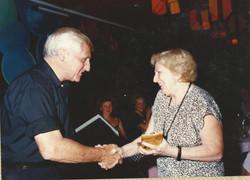 טקס הענקת אות יקיר תל אביב, 1985