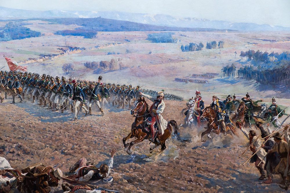 חלק מתמונת הפנורמה של הקרב ברצלאביצה