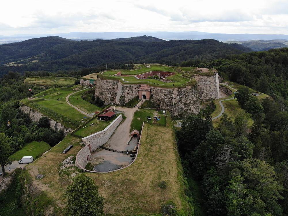 מבצר סרברנה גורה - אתר אופציונלי במסלול המוצע