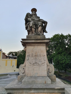 פסל על גשר קלודזקו