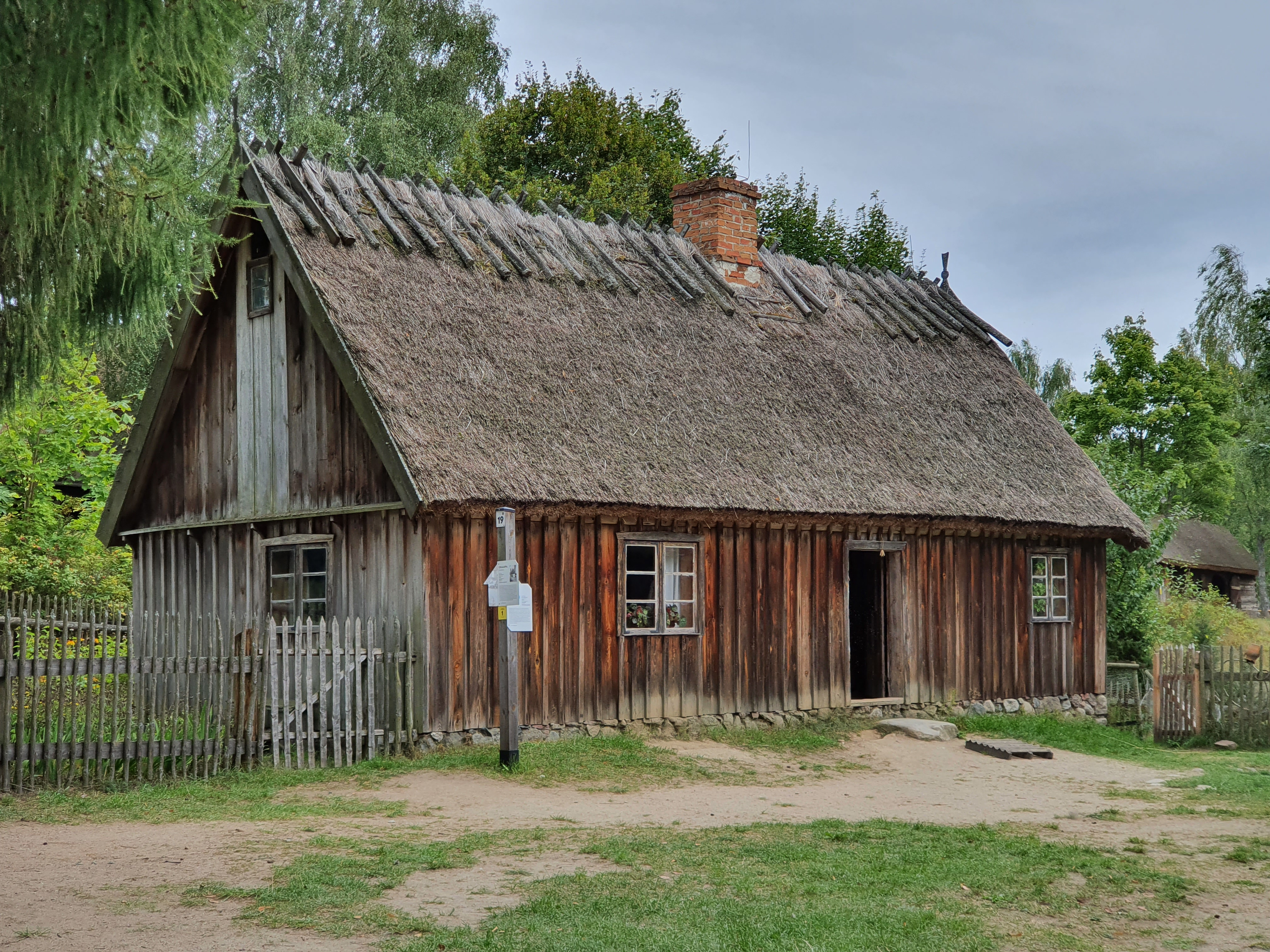 בקתה כפרית