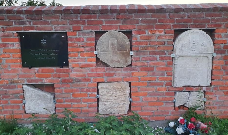 גלעד בבית הקברות של קורוב Kurów