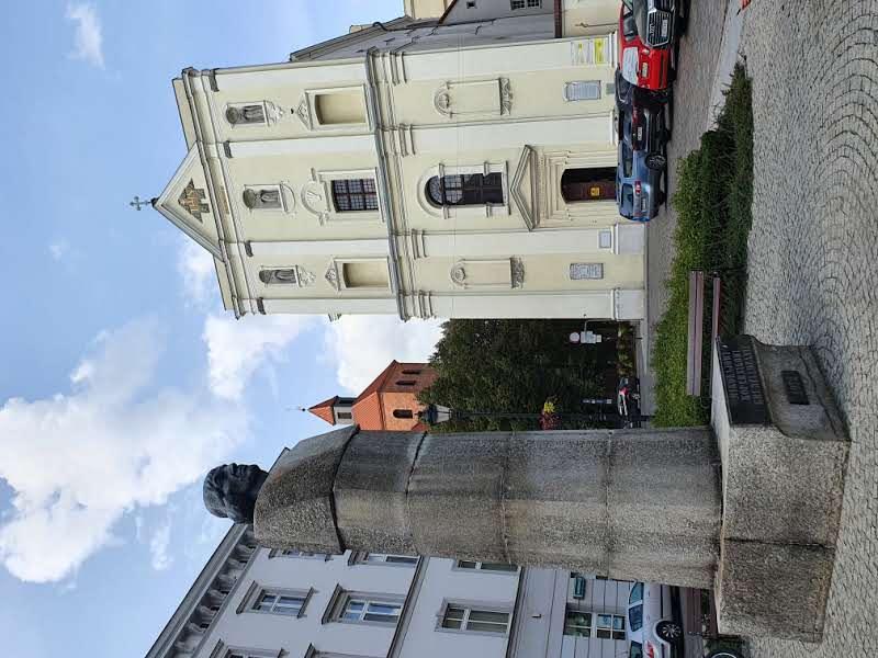 פסל קופרניקוס בכיכר חובבי האסטרונומיה