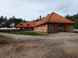 בית מרזח מהכפר רומיה, והכניסה למוזיאון