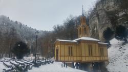 הכנסייה שעל המים בחורף