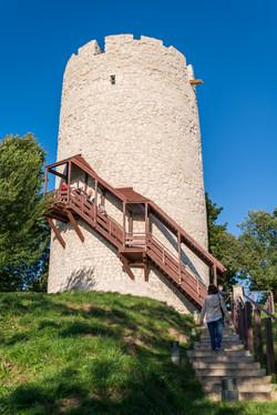 מגדל התצפית של טירת קז'ימייז'