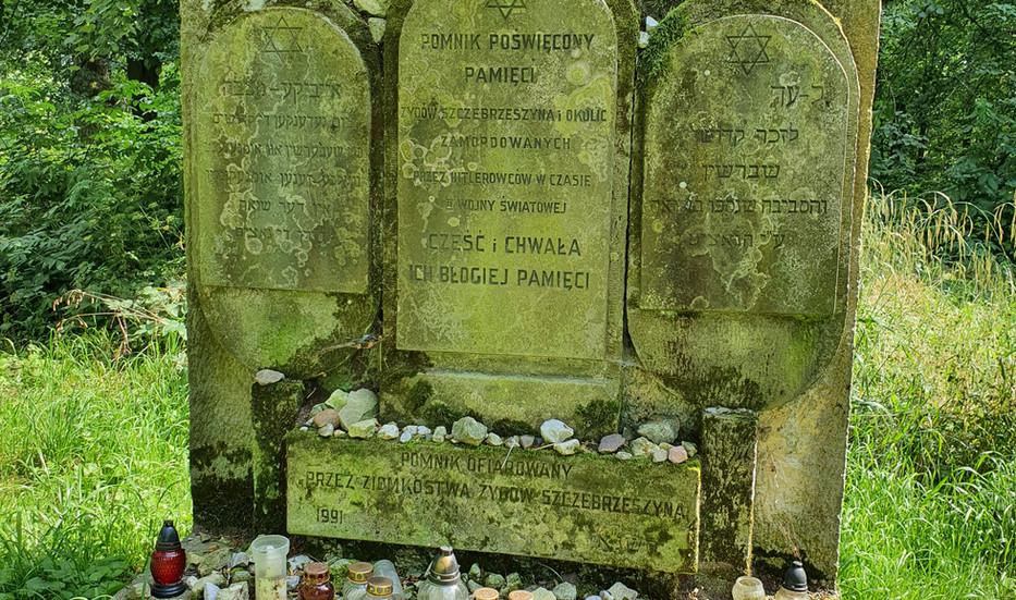 גלעד בבית הקברות של שצ'בז'שין