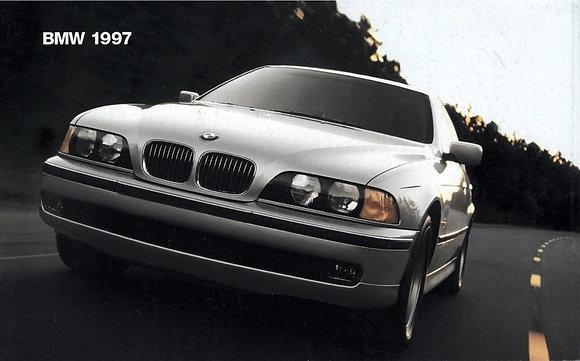 1997 Model Range Booklet