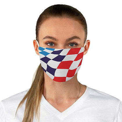 BMW Motorsport flag covid face mask
