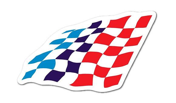 Motorsport Flag Magnet