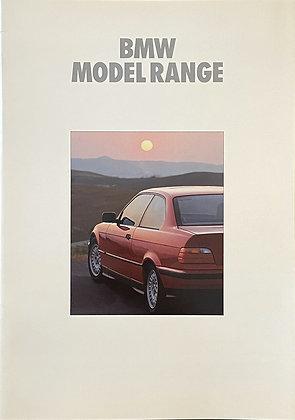 1992 Model Range