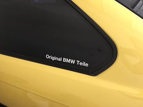 Original BMW Teile Decals