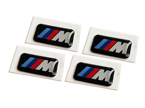 M Wheel Emblems